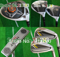 2013 NEW golf clubs R1Drivers+stage2Fairway Woods+irons+Putter Complete Club Sets Right/graphite shaft(no bag)EMS FREE SHIPPING