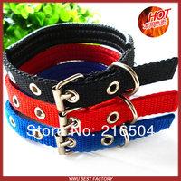 Free shipping Pet dog Soft lining collars 10pcs/lot Dog Cat  polypropylene foam collar L XL size 3 colors Wholesale supplier