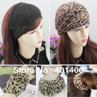 12pcs Fashion Stretchy Bandana Headband for Women Multi-function Turban Hairband Ladies Hair Aceesories