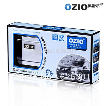 Ozio Car Power Inverter dc 24v to ac 220v 500w USB 500mA EU51 For Truck New Arrival Free Shipping