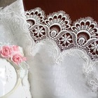 Free Shipping Hot Sale Elegant Polyester Lace Tablecloth Peacock Table Linen Cloth For Wedding Party and Home Overlays White(China (Mainland))