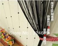 NEW &FREE SHIPPING  hot 18 colors handmade crystal bead line curtain /Crystal bead curtain