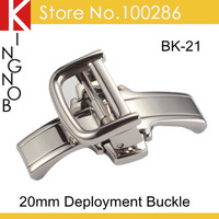 BK-21 316L Stainless Steel 20mm Watch Buckle Clasp For Panerai Strap Deployment Buckle Clasp Free Shipping