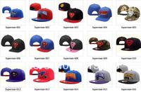 Free shipping SUPERMAN,CARTOON STYLES,BATMAN snapback hat,baseball team caps Snapback Hats