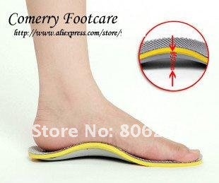 Arch Support Orthotics Insole TPU Orthotics Insole For Shoes sport Insole 2piece=1pair/lot