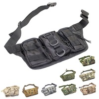 Multi-Mission 3 in 1 Waist Packs Outdoor Sport Camping Bicycle Cycling Mountaineering Climbing Molle bag