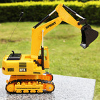 Kid's toys wireless remote control excavator with a belt electric toy engineering car(China (Mainland))