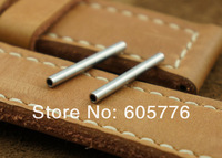 New watchband accessory 316L Stainless Steel tube 24mm for  For Panerai watch band strap 1000pcs/lot Free Shipping