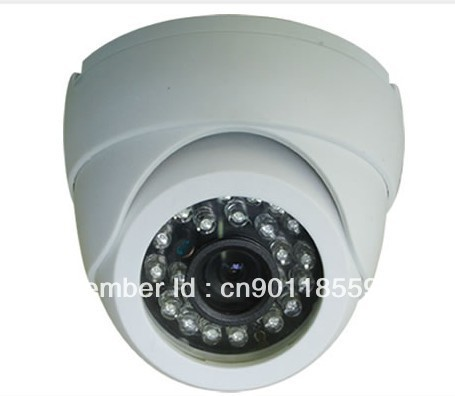Sony 4140 CCD 700TVL Night Vision Color IR Indoor Dome CCTV Camera ,Home Security Camera,RSJ-H15E,Wholesale(China (Mainland))