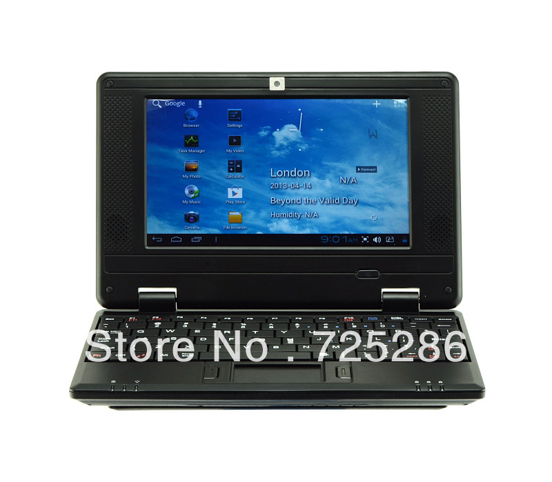 "LOW!!! Mini 7"" VIA8850 Android 4.0 Wifi Netbook Notebook Laptop 512MB 4GB 1.2GHz CPU Webcam HDMI port Free Ship with retail(China (Mainland))"