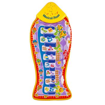 Baby Kid Child Piano Music Fish Animal Mat Touch Kick Play Fun Toy Gift New #25295