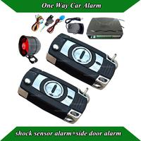 Universal Basic  car alarm  system,hot selling metal alarm remote,4 function keys,remote trunk release,doom light supervise