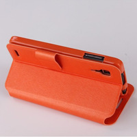 Cover for Lenovo P780 100% Original J&R Brand Cantaloupe pattern Flip leather Case for P780 , 5 Colors