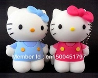 Wholesale Guaranteed full capacity Hello Kitty Thumbdrive USB Flash Drive Disk  2GB 4GB 8GB 16GB 32GB 64GB