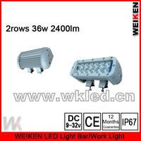 offroad ATV UTV SUV waterproof IP67 8inch 36w 2400lm led work light
