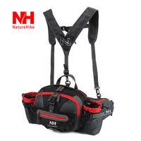 9L Outdoor Functional Waist Pack Unisex Ferrino Hip Packs Hand Bag Cycling Bags YK Zipper Black Green Pink For Travel Hiking