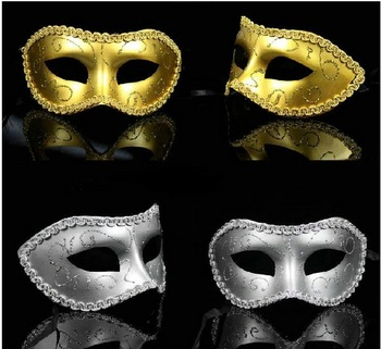 Free shipping Party Mask Half Face Many Colors PVC For Masquerade Party 10pcs/lot PW0011 Wholesale Drop Shipping 15 Colors