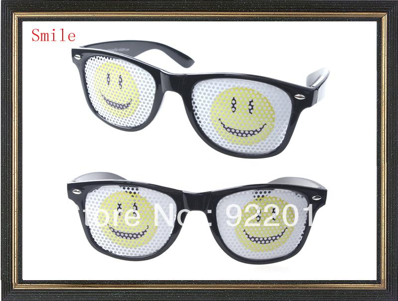 Hot sell Stickers Glasses wedding party gift Party sunglasses logo on lens sunglasses Custom LOGO Glasses printing logo o lens(China (Mainland))