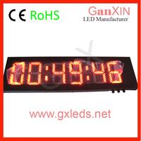 Ganxin hangzhou 8 inch 6 digit led display screen shenzhen advertising aliexpress