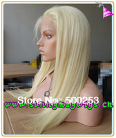 Sunnymay  blonde ladies' full lace wigs with baby hair straight  Malaysian virgin hair in stock