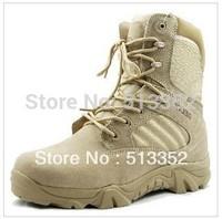 Free shipping 2015 Commando Marines new high help zipper Men desert boots, Combat boots, Army boots