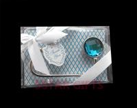Something Blue Shimmering Purse Valet 100PCS/LOT+ purse hanger hook wedding bridal shower favor+Free shipping