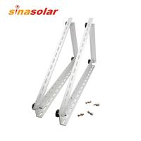 RV Rack Solar Panel Mounting Bracket Folding Tilt Legs