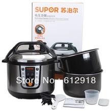 Famosa marca chinesa Supor AC- 230 panela de pressão elétrica 5 l de pressão elétrica panela de livre IP Federal Express(China (Mainland))