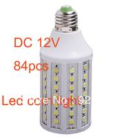 e27 15W led lighting DC/AC 12V corn light led lamp 84pcs smd5050 energy saving light