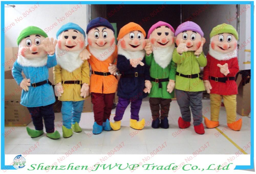 7 dwarfs costumes children
