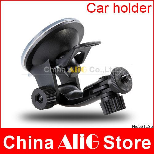 Car Sucker Mount Holder For 1/4 Screw Universal DV Digital Camera Holder GPS Phone Pad Car Video Recorder Car Accessories(China (Mainland))