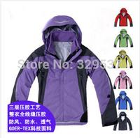 Free shipping winter jackets new women hoodie coat outdoor waterproof clothes jacket  women outdoor jacket ski coat