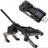 Transformer deformation robot dog style USB flash drives 2GB 4GB 8GB 16GB 32GB 64GB Free Shipping