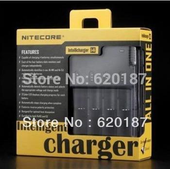 NEW NITECORE i4 V2 Intelligent Charger for NiMH/NiCD/Li-i on 18650/RCR123 Free shipping