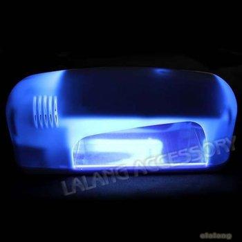 10piece New Fashion Plastic White Professional Nail Art Gel UV Lamp Light Dryer 25*10*9cm 600082