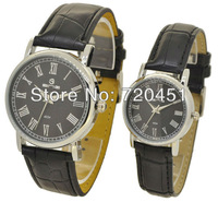 Free Shipping Hot Sell The latest fashion 2013 Lovers watches and holiday gifts 1pcs to sell Roman numeral display
