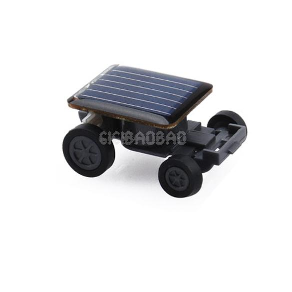 Solar Power Mini Toy Car Racer Educational Gadget W #gib(China (Mainland))