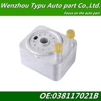 Oil Cooler Q7 TT A3 Quattro VW Touareg EOS Passat  038117021B 038 117 021B