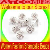 Free Shipping,DRY 12mm Shamballa Beads,can Mix 28 Colors,Shambala Bracelet CZ Diso Ball,Shamballa Crystal Bead,300pcs/lot ZG128