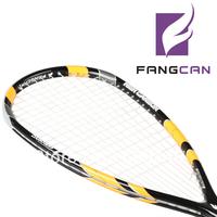 free shipping! top quality Fangcan full carbon fiber carbon squash rackets general ultra-light  ,1 pcs price