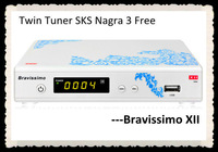 AZCLASS Bravissimo XII SKS Nagra 3 decodifications for South America with IKS optional