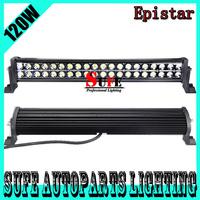 Free DHL Shipping 22'' 120W LED Light Bar Off Road SUV Truck Lamp Spot Flood Combo LED Work Light Bar 4X4 Driving Light 180W 72W