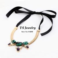 2014 Sale Necklace Women Necklace Luxury Jewelry Free Shipping Fashion Elegant Gem Female Snake Chain Jewelry(min Mix Order>$10)