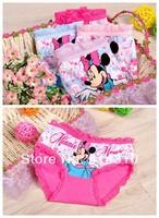 free shipping6pcs/lot cartoon children's underwear cotton boxer underwear for girls kids pants MK3