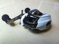 9+1BB right handle white color baitcasting fishing reel DM120RA magnetic brake system