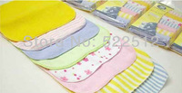 80pcs/ 10pack cheap infant  baby face nursing towel baby's small handkerchief Free Shipping
