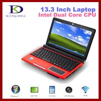 Kingdel 10.2 inch Window 7 Mini laptop notebook with Intel Atom D2500 Dual Core 1.86Ghz, 2GB RAM, 160GB HDD, WiFi, Webcam