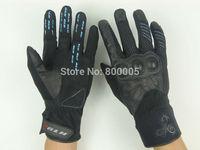 No.270501 Winter Children Cycling Gloves Full Finger Youth MTB Bicycle Gloves Gel Boys Bike Gloves Kids Mittens Black SALE