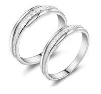 New 100% S925 Sterling Silver Rings Charm Couple Engagement Decoration Free Shipping