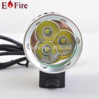 3800 Lumen CREE XM-L 3*T6 LED Bike Bicycle Light LED Light HeadLight+  Battery 6400mah & Charger